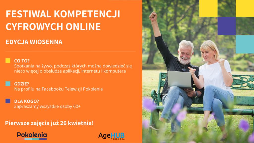 Ruszamy zwiosenną edycją festiwalu kompetencji cyfrowych online
